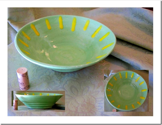 lime green and yellow bowl_1