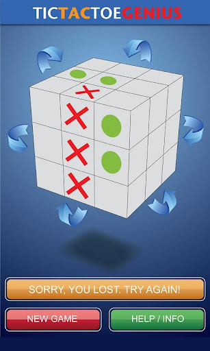 玩免費解謎APP|下載Tic Tac Toe Genius app不用錢|硬是要APP