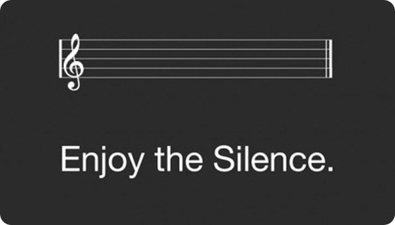 enjoy silence