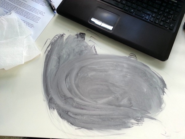 Crying over spilled ink