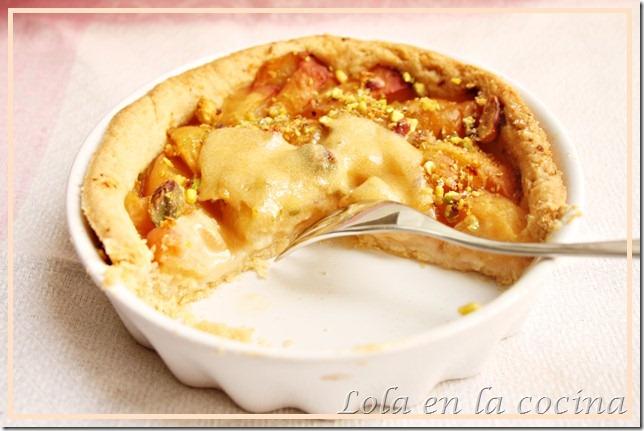 tarta albaricoque sabayón 8
