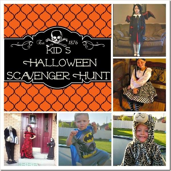 halloween scavenger hunt 7