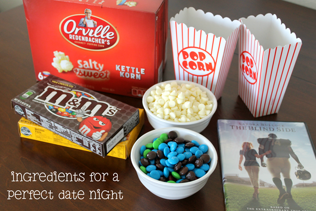 ingredients for a perfect date night