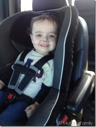 Sam O'Neal, 2 years old. Shones syndrome (variant of hlhs), post bi-ventricular repair
