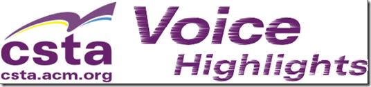 CSTA Voice highlights