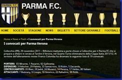 CONVOCATI PARMA VERONA