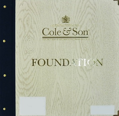 Cole and Son, Fundation 1