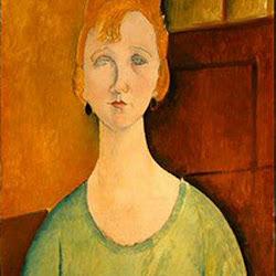 Modigliani, Girl in Green Blouse 1917