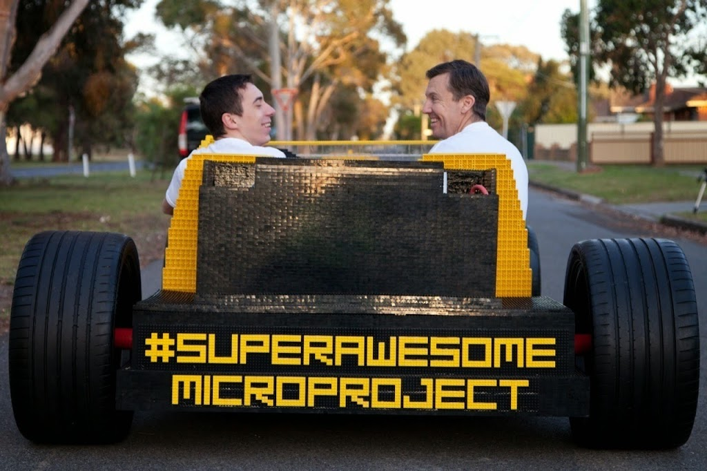 Super%252520Awesome%252520Micro%252520Project%252520Lego%252520Car%25252028 Holy Crap! Its a Drivable LEGO Car! [Video]