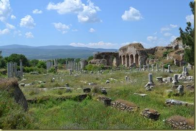 Aphrodisias area to left of theatre