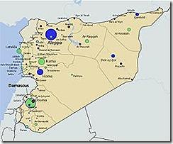 Siria atacada. Dez.2012