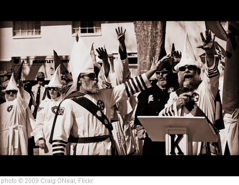 'KKK Rally in Georgia' photo (c) 2009, Craig ONeal - license: http://creativecommons.org/licenses/by/2.0/