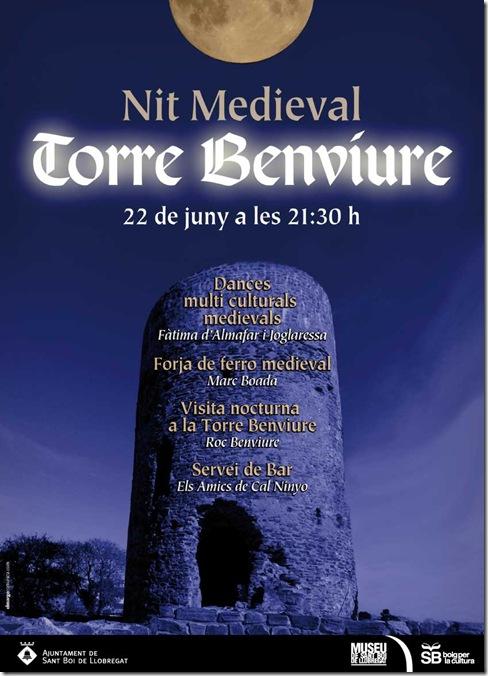 2013-06-22 Nit medieval a la Torre de Benviure