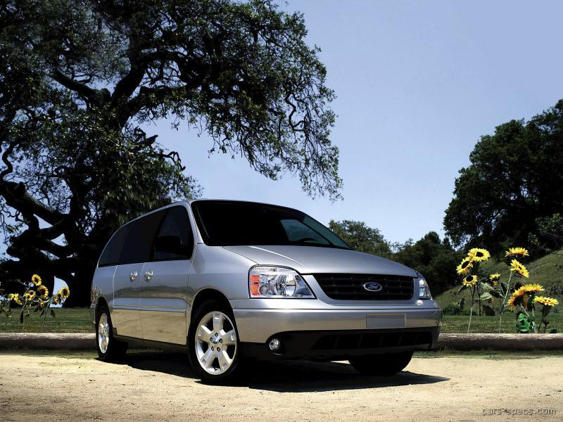 ford freestar minivan specifications pictures prices