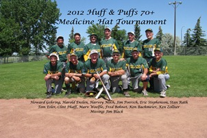 2012 Huff & Puffs 70  Med Hat Tournament 9186F