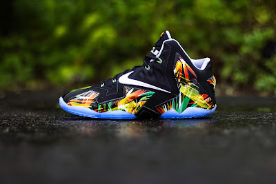 nike lebron 11 gr everglades 5 02 Release Reminder: Nike LeBron XI Everglades Goes Into the Wild