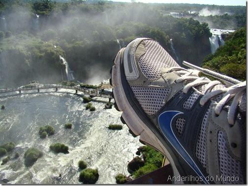 Andarilhos do Mundo nas Cataratas do Iguaçu Brasil