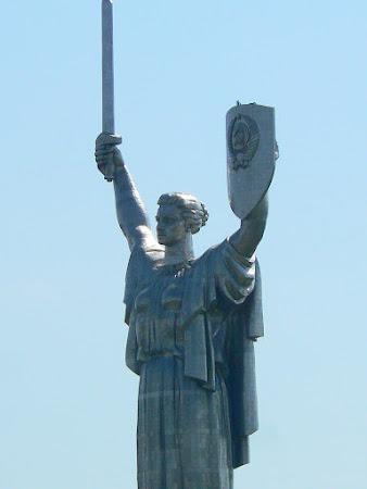Monumente Kiev: Mama Patrie.JPG
