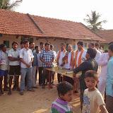 Campaigning in Kallahalli
