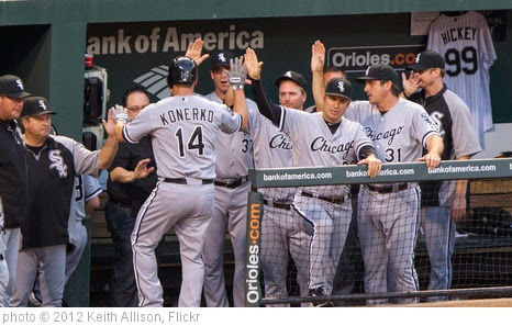'Chicago White Sox' photo (c) 2012, Keith Allison - license: https://creativecommons.org/licenses/by-sa/2.0/