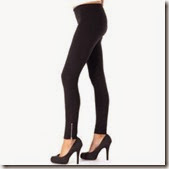 Shopclues : Buy Sukuma Black Cotton Lycra Stretchable Zipper Pant at Rs.229 only