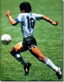 The Iconic Maradona
