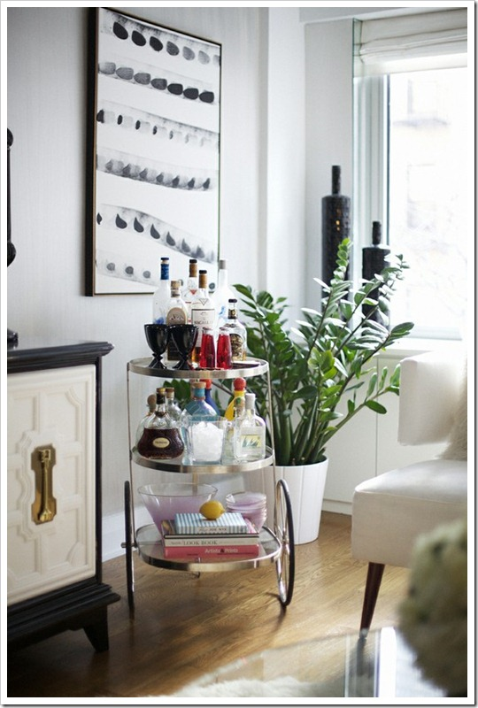 bar carts rue magazine