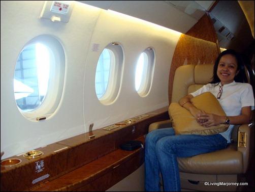inside the Falcon2000LX