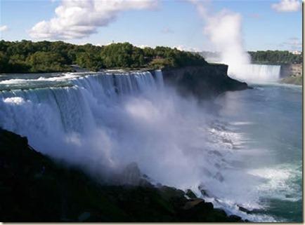 destinos turísticos de Canadá - cataratas de niagara