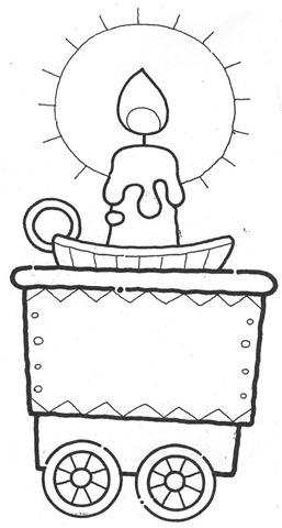 vela,Trenzinho de natal em EVA,molde natal eva,molde em eva,desenhos de natal