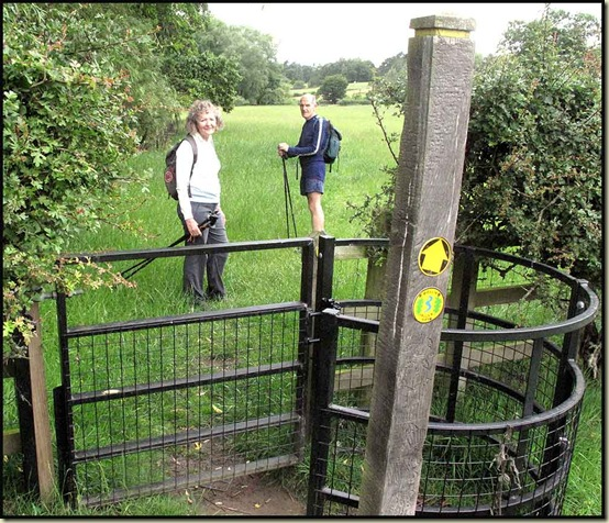 A new stile on the Bollin Valley Way