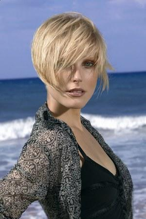 Short Choppy And Layered Hairstyle