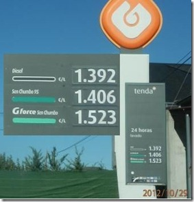Combustiveis GALP - Espanha - Out.2012