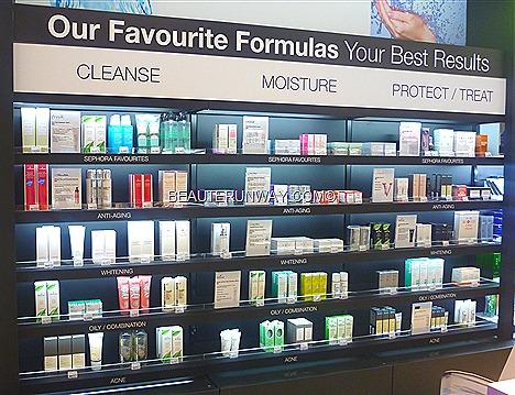 Sephora Singapore Favourites Anti-aging whitening oil combnation acne skin Cleanser Moisturer Protect Treat