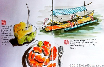 Sketches of Bali