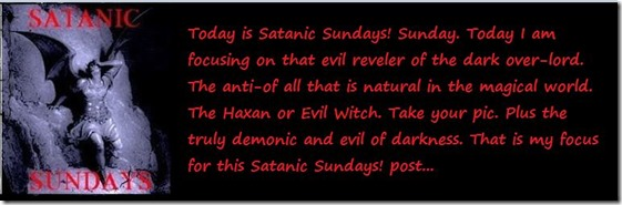 satanic sundays intro card