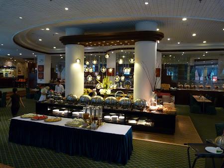 Mic dejun la hotel in Xian