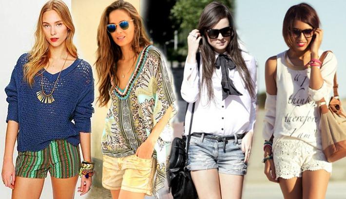 short-feminino-moda-verao