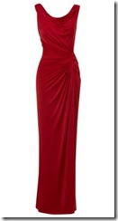 Biba cowl back maxi dress