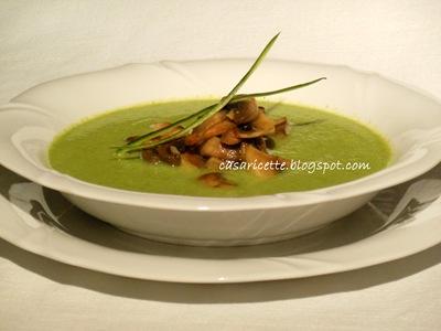 cdr zuppa di zucchine e funghi