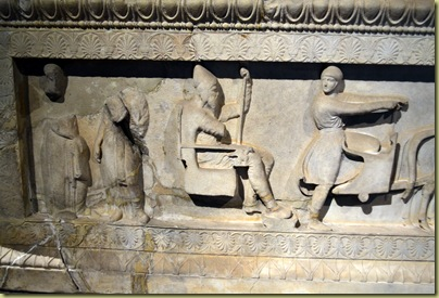 Istanbul Sarcophagos side detail