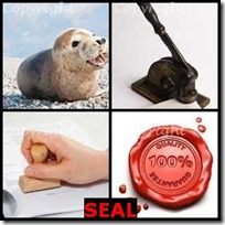 SEAL- 4 Pics 1 Word Answers 3 Letters