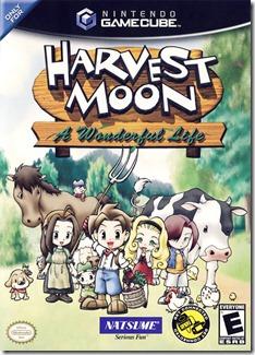 Harvest Moon exclusivo para GameCube. Posteriormente, edições especiais sairam para outros consoles.