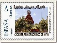Sello Romería Virgen Montaña