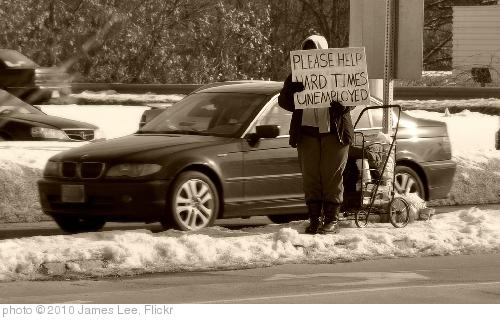 'Unemployed' photo (c) 2010, James Lee - license: http://creativecommons.org/licenses/by/2.0/