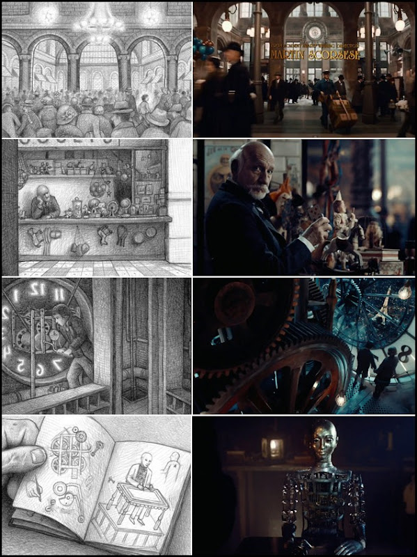 Hugo Production Design