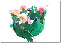 corona para disfraz hada de las flores