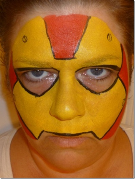 maquillaje de iron man (19)
