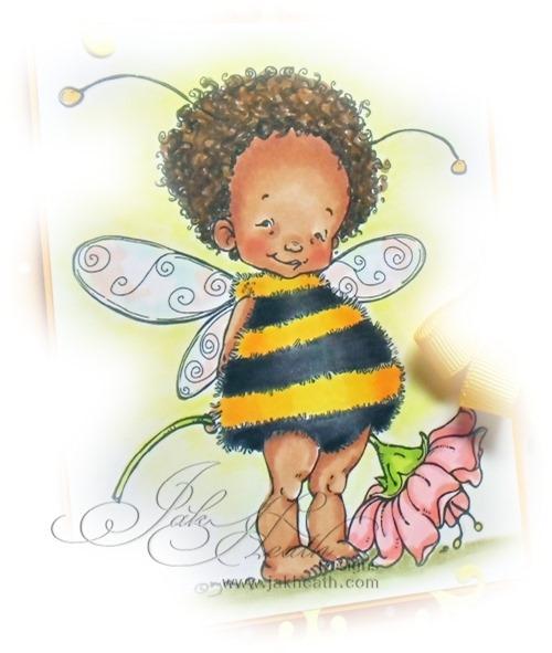 baby fairy bee b2