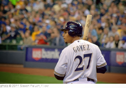 'Carlos Gomez' photo (c) 2011, Steven Paluch - license: http://creativecommons.org/licenses/by/2.0/